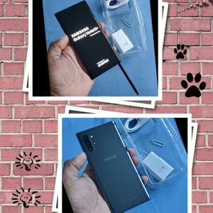 Samsung Galaxy Note 10+ Plus Unlocked Brand-new OPEN BOX SM-N975U 256GB Single SIM Aura Black 🖤 for Sale in Hollywood, FL