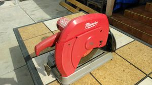 Milwaukee chop saw for Sale in Los Angeles, CA