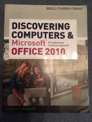 Microsoft Office 2010 Textbook for Sale in Durham, NC