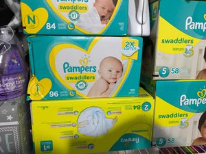 Pampers All sizes Available for Sale in Medley, FL