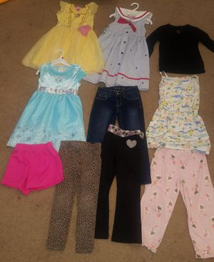 size 5T, girls Frozen dress; beauty &beast etc. for Sale in El Paso, TX
