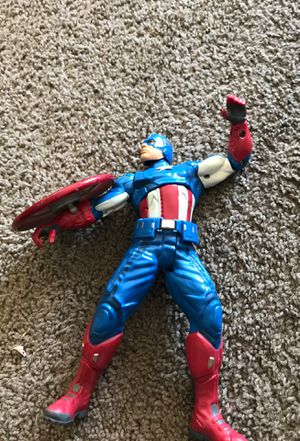 Toy captain america for Sale in San Diego, CA