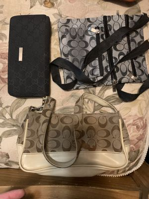 Coach handbags or Gucci wallet for Sale in Crosby, TX
