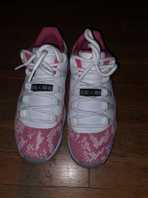 "Air Jordan 11 Retro Low ""Pink Snakeskin"" Women's for Sale in Atwater, CA"