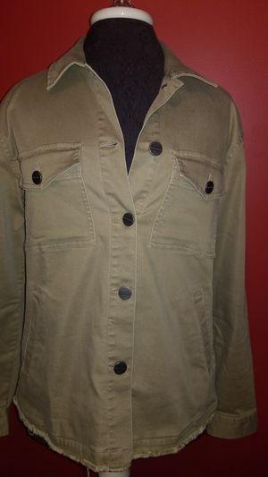 Sanctuary Olive Denim Jacket for Sale in Mokena, IL