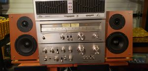 pioneer stereo receiver component and speakers. for Sale in Burbank, IL