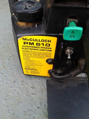 McCULLOCH PM 610 CHAINSAW for Sale in Vancouver, WA