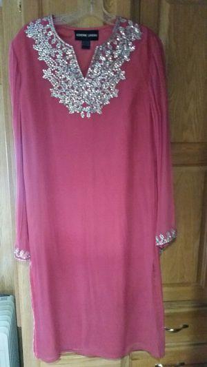 Adrienne Landau Pink Caftan Dress Size S/M for Sale in Wenatchee, WA