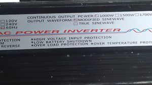 AED Intrnational DC-AC Power Inverter. for Sale in Republic, MO