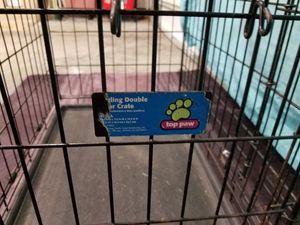 Med sized dog cage with liner. for Sale in Overland Park, KS