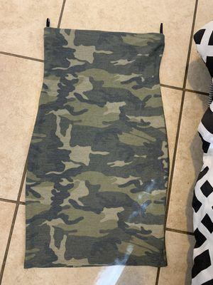 Medium strapless dress for Sale in San Bernardino, CA