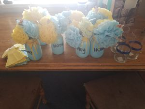 Baby shower center pieces for Sale in Victorville, CA