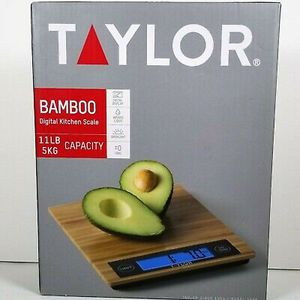 Taylor 3828 Bamboo Digital Kitchen Scale, One Size, Black Taylor 3828 Bamboo Digital Kitchen Scale, One Size, Black for Sale in Louisville, KY