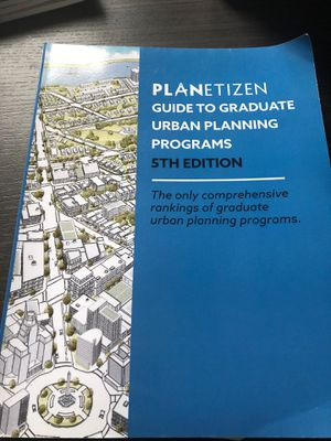Planetizen Guide to Graduate Urban Planning Programs (5th Edition) for Sale in Washington, DC