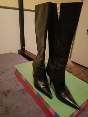 Charles David knee High black boots for Sale in Fresno, CA