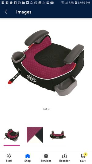 Graco Affix Backless Booster Car Seat, Callie for Sale in Glendale, AZ
