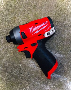 New Milwaukee M12 FUEL Brushless Impact Drill (Tool Only) for Sale in Modesto, CA