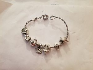 Dangle Charm Coil Bracelet for Sale in Cleveland, OH