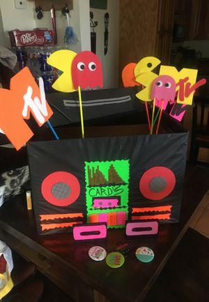 80s party decor for Sale in Amarillo, TX