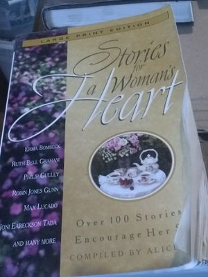 stories for a woman's heart for Sale in New Canton, VA