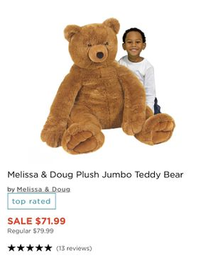 Large teddy bear for Sale in Lathrop, CA