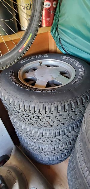 Rims and tires for Sale in Fresno, CA