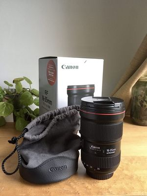 Canon 16-35 2.8L III (brand new in box) for Sale in Orland Park, IL