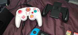Nintendo Switch, controller, Super Smash, Super Mario Deluxe for Sale in Darien, CT