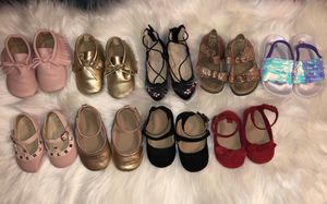 Baby girl and toddler shoes for Sale in Tucson, AZ