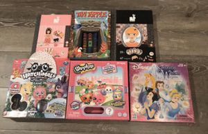Board Games & Magnetic Games For Kids Lot Of 6: Hatchimals, Shopkins & Other. Fun! for Sale in Temecula, CA