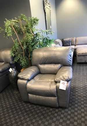 NEW Plush Recliner Chair in Brown, Black or Grey / Matching Couch, Sectional & Loveseat are Available for Sale in Vancouver, WA
