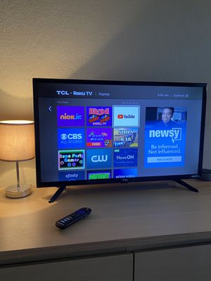 """TCL 32"""" CLASS 3-SERIES HD LED ROKU SMART TV for Sale in Marina del Rey, CA"""