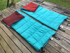 Pair of Vintage Du Pont Hollofil 808 Camping Sleeping Bags for Sale in Chicago, IL