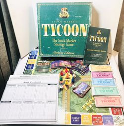 Vintage 2000 Stock Market Tycoon Deluxe Board Game for Sale in Providence,  RI