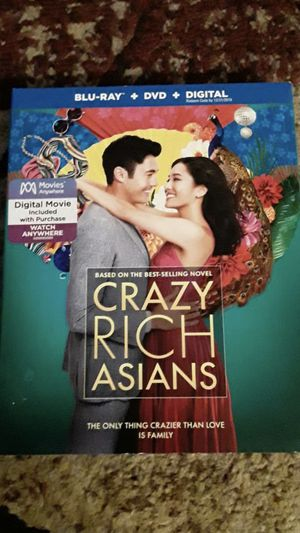 DVD Movie Crazy Rich Asians for Sale in Pittsburg, CA