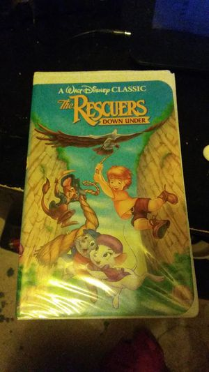 """Walt Disney classic """"the rescuers down under"""" vhs for Sale in Riverton, UT"""