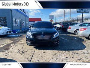 2015 Mercedes-Benz S-Class for Sale in Detroit, MI
