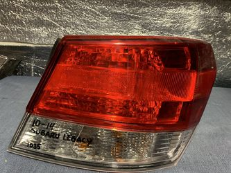 2010 2011 2012 2013 2014 Subaru Legacy taillight tail light for Sale in Rancho Cucamonga,  CA