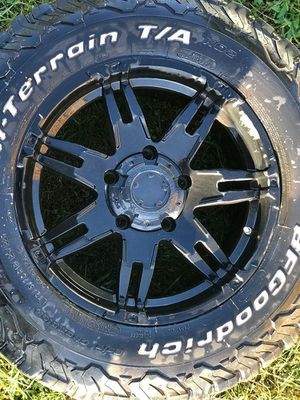 Motorsport wheels size 18 and tires for Sale in CHRISTIANSBRG, VA