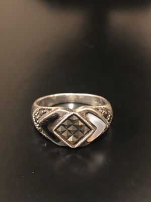 Vintage sterling silver ring with amethyst stone for Sale in Bloomfield Hills, MI