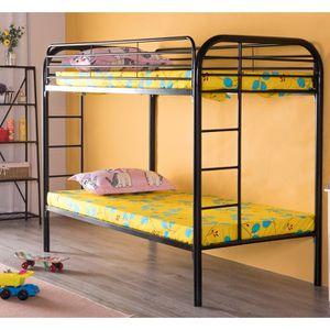 METALLIC TWIN BUNK BED EXCELLENT CONDITION/ LITERA DOBLE EXCELENTES CONDICIONES for Sale in Concord, CA