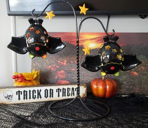 Ceramic Bats Halloween Decor for Sale in GARDEN CITY P, NY