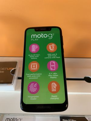 Moto G7 free when you switch to boost. for Sale in Orlando, FL