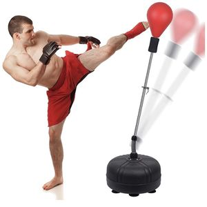 Speed Ball Boxing Bag with Adjustable Stand, Adult and Children's Models, Freestanding Boxing Sandbag, Height Adjustable Outlet 53In-62In - Perfect fo for Sale in Lilburn, GA