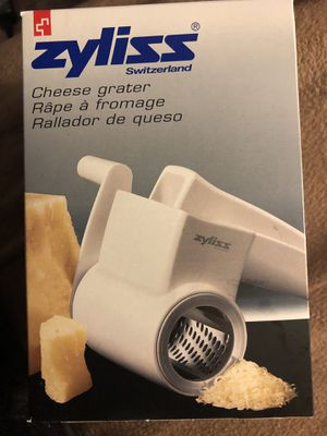 Zyliss cheese grater for Sale in Arlington, VA