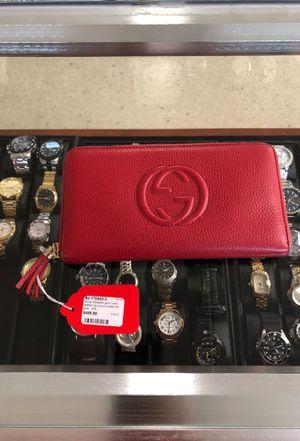 Gucci soho leather zip wallet for Sale in Orlando, FL