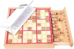 Wooden Sudoku Chess Puzzle Board Game with Drawer for Sale in Tukwila, WA