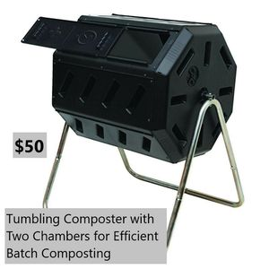 Tumbling composter with two chambers for Sale in Bakersfield, CA