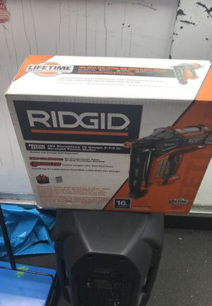 Rigid 18v brushless 16 gauge 2-1/2in. for Sale in Bronx, NY