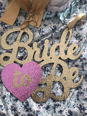 Bride to be decor for Sale in Madera, CA